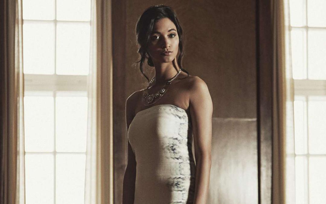 """Schickes Kleid – Marke """"biologisch abbaubar"""""""
