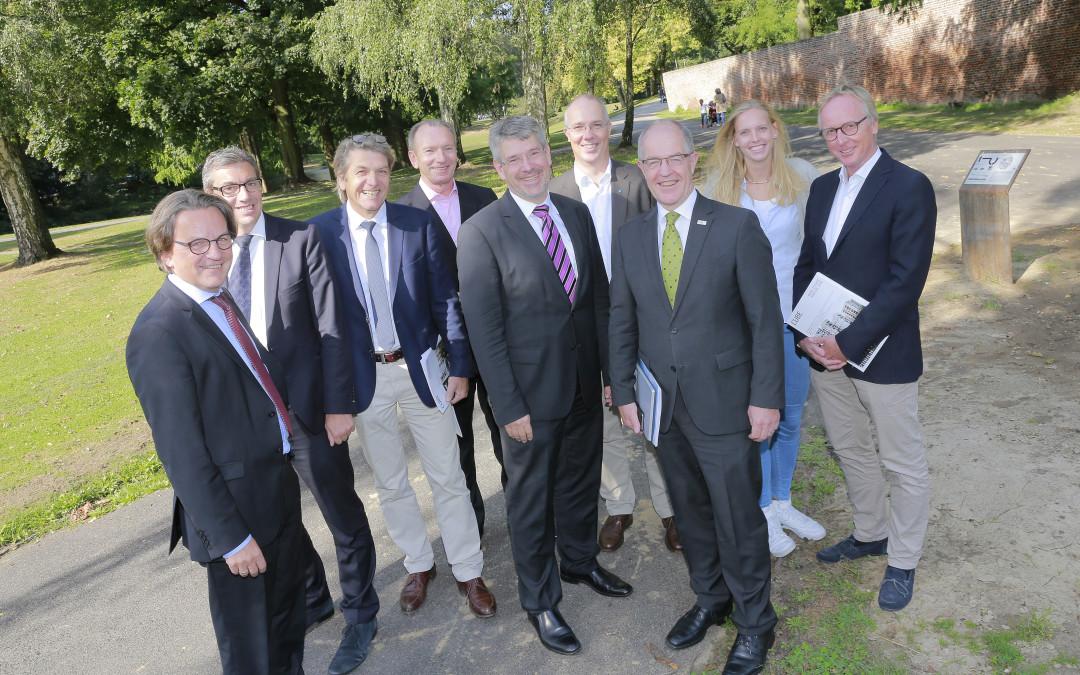 Expo Real: Mönchengladbach fährt mit breiter Brust