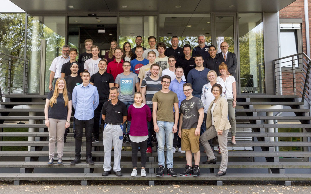 Ausbildungsbeginn bei SMS group GmbH