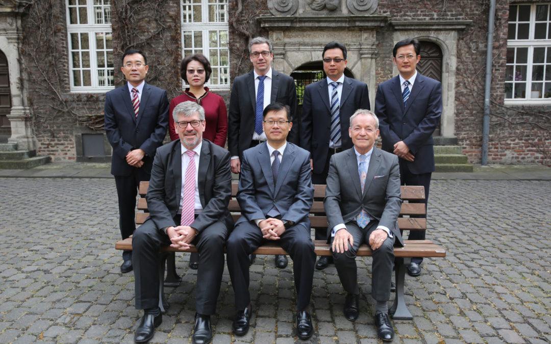 China-Delegation in MG zu Gast
