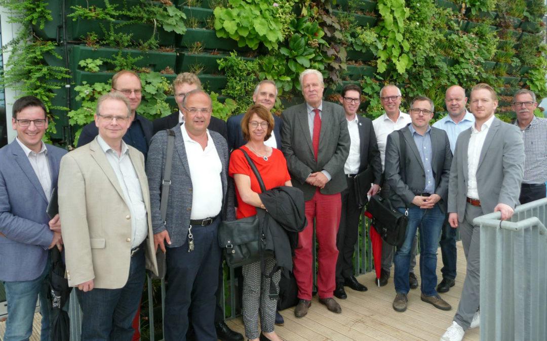 Wirtschaftsförderer aus dem Kreis zu Gast in Venlo