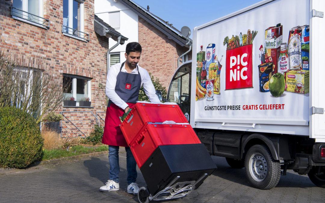 """Picnic"" in Mönchengladbach"