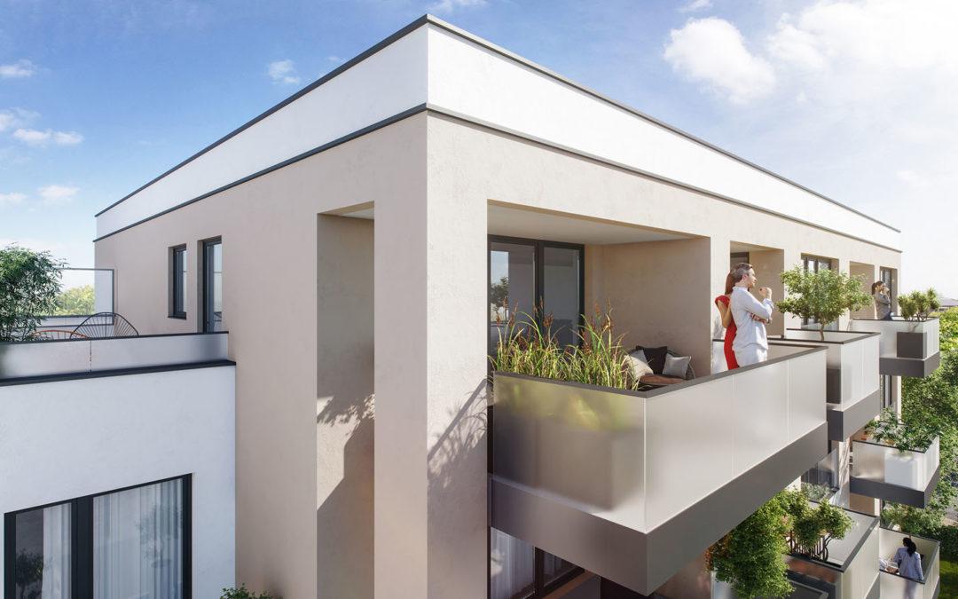 DORNIEDEN errichtet fünf Mehrfamilienhäuser mit 60 Wohneinheiten